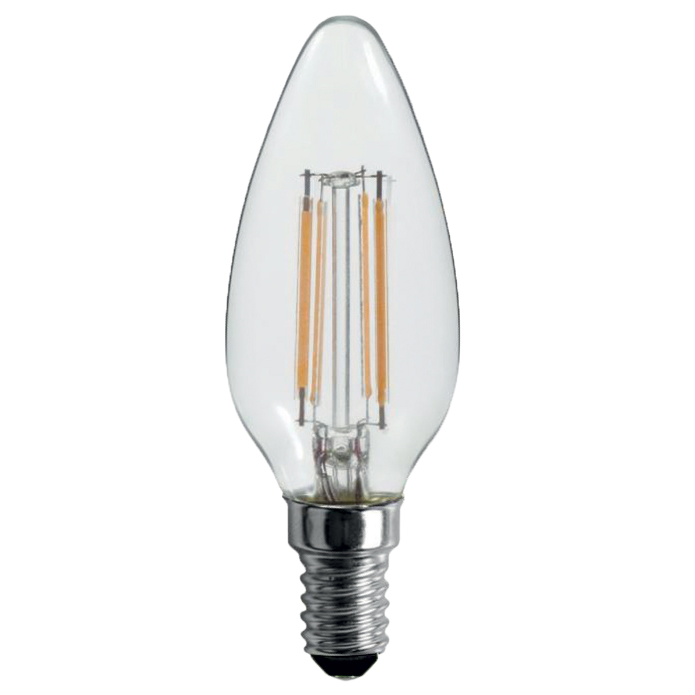 Ampoule LED filament flamme c37 Foxlight