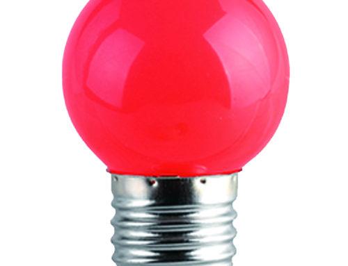 Ampoule LED multicolore G45 E27